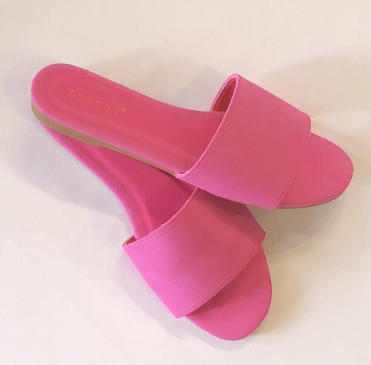 Hot Pink Slides