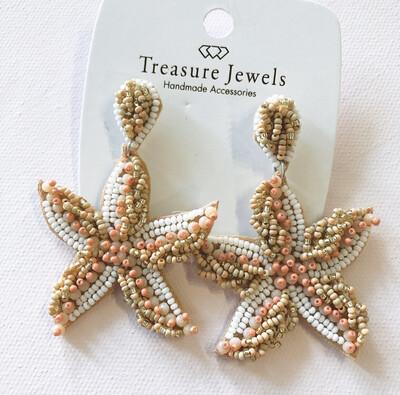 Neutral Starfish Earring