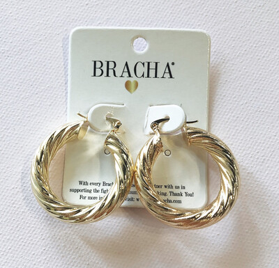 Cool Girl Gold Hoops