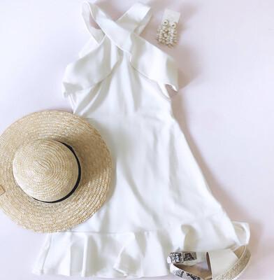 Cross Halter Dress