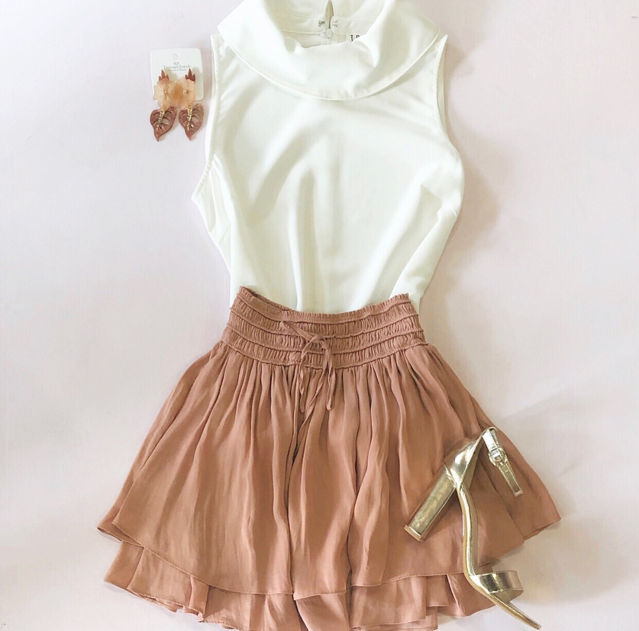 Copper Flirt Skirt