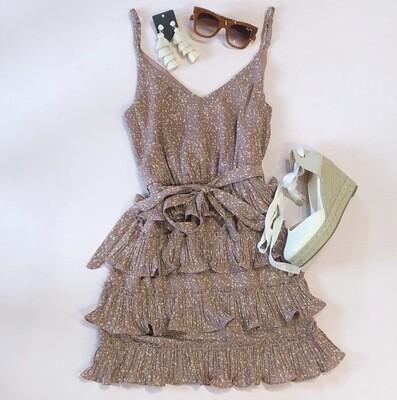 Mauve Ruffle Dress