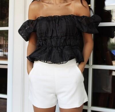 Classic White Short