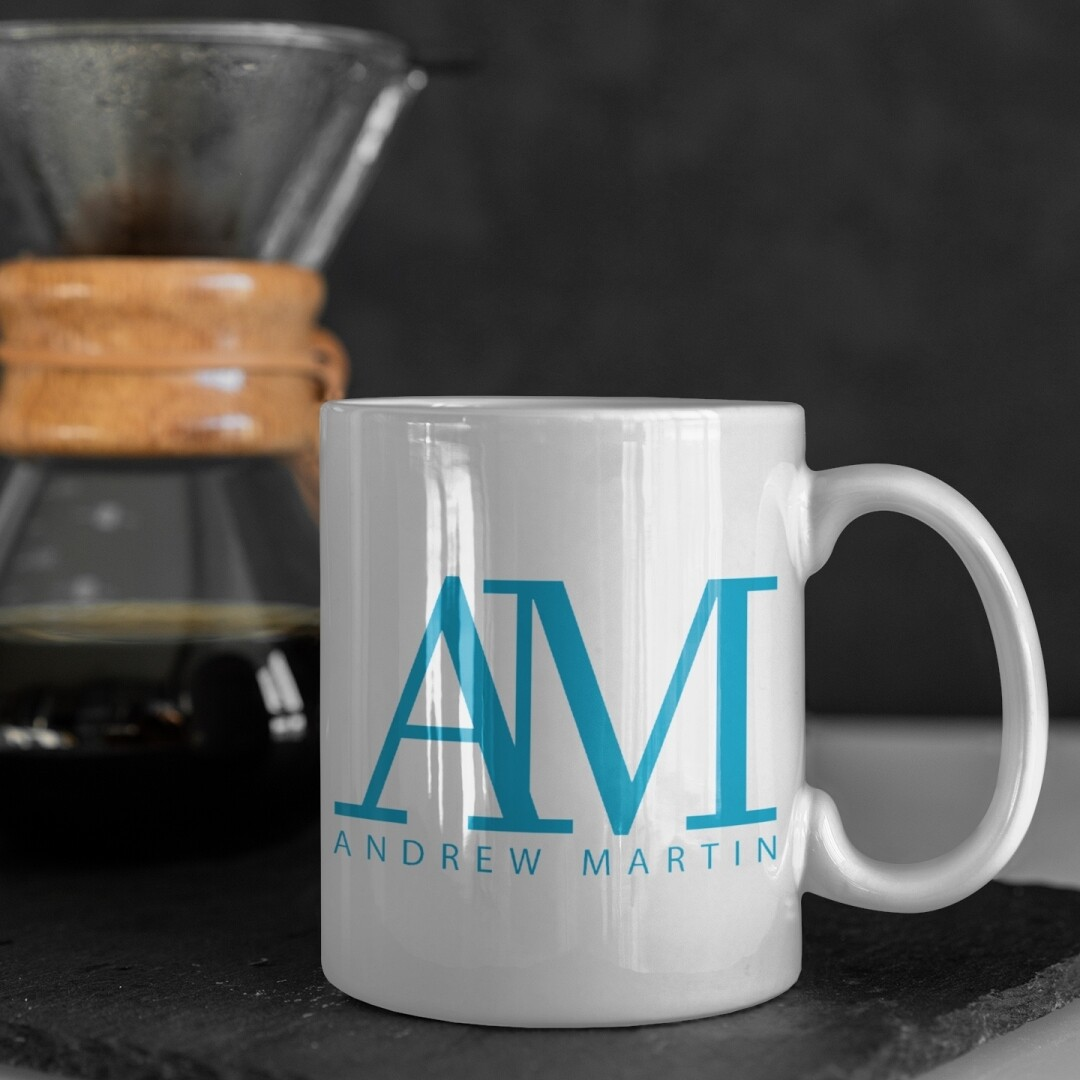 Online Exclusive AM Logo White 11 oz Mug