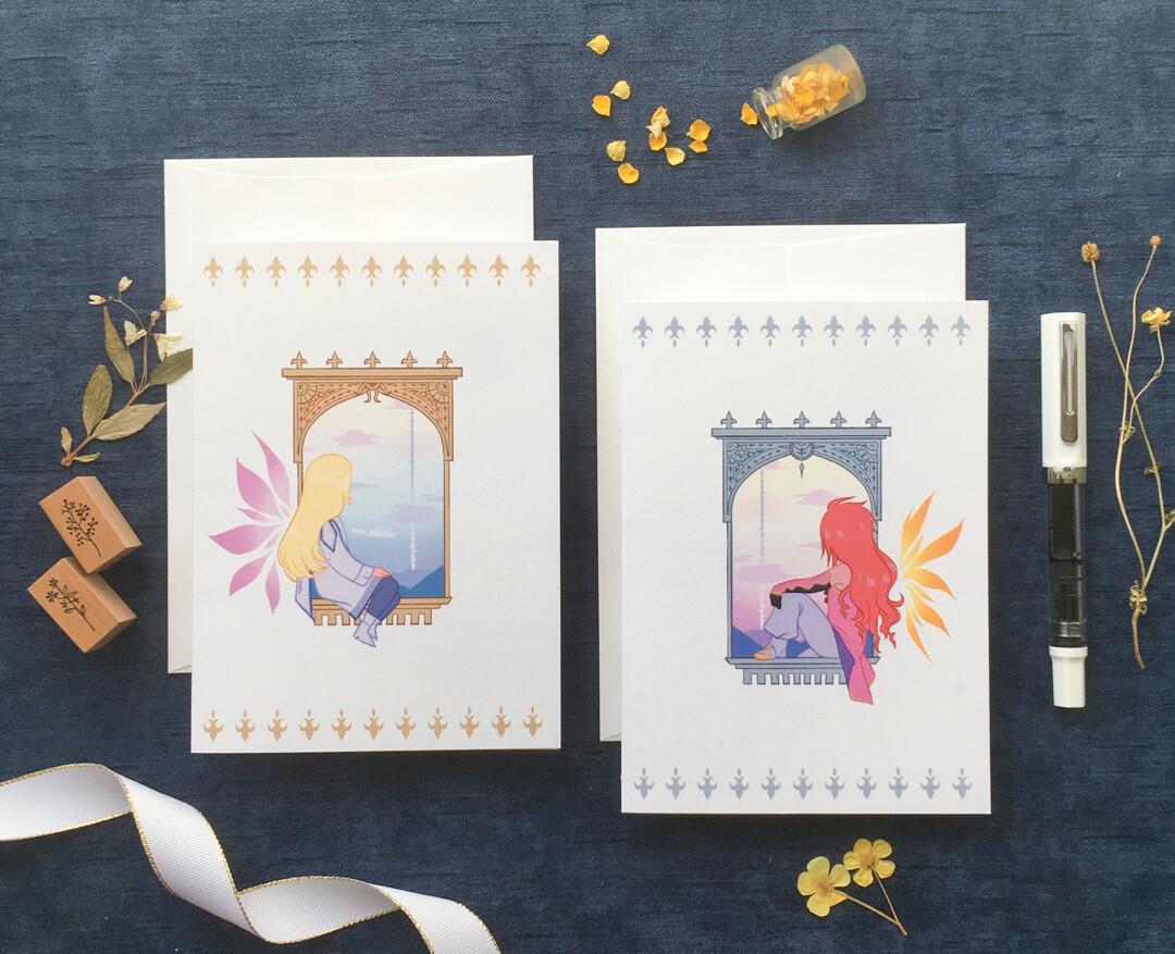 Chosen of Mana Note Cards