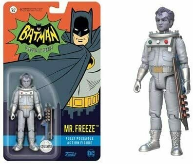Funko Action Figure: DC Heroes - Mr. Freeze Toy Figure (styles may vary)