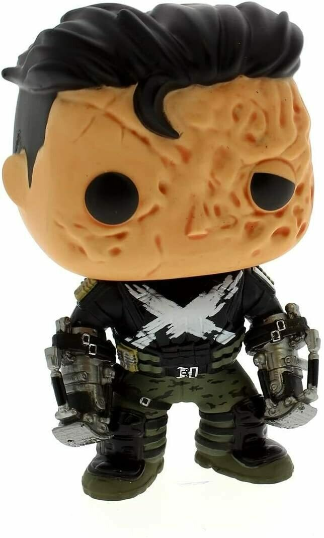 Funko Pop! Marvel #139 Crossbones Unmasked
