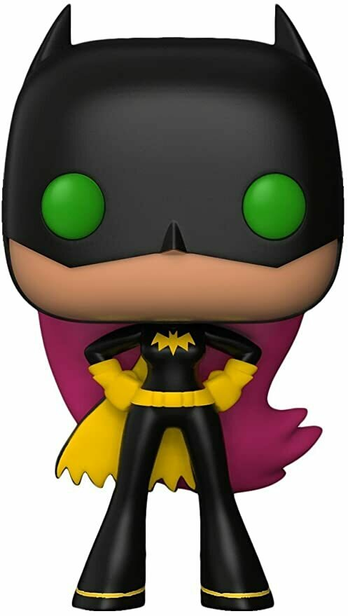 Funko Pop! TV: Teen Titans Go! -Starfire As Batgirl Collectible Toy
