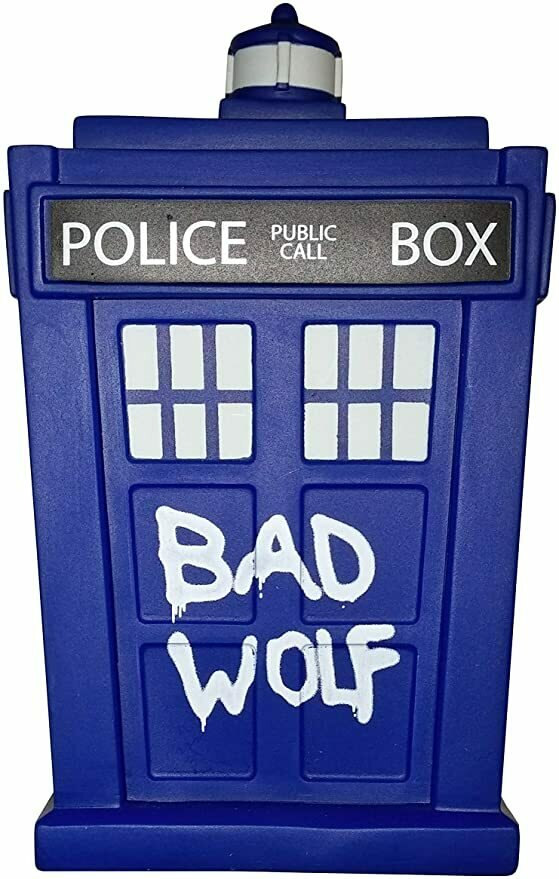 "Doctor Who Titans Bad Wolf TARDIS 6.5"" Vinyl Figure Standard"