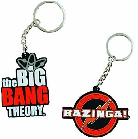 1 X The Big Bang Theory Laser Cut Keychain- Big Bang Theory