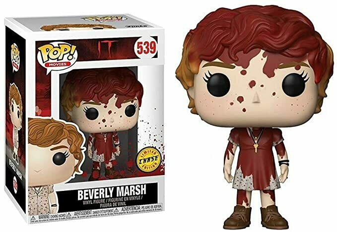 Funko Pop! Movies | Stephen King's IT | Bloody BEVERLY MARSH CHASE Variant | Limited Edition | Vinyl Figure