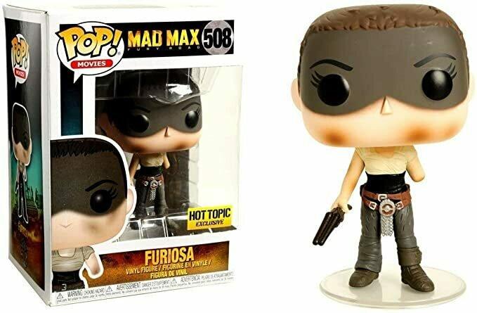 Funko Pop! Movies Mad Max Fury Road Furiosa #508 (Missing Arm)