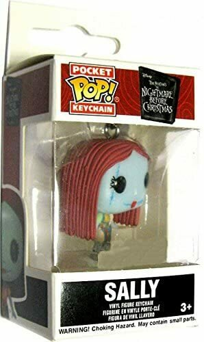 Funko The Nightmare Before Christmas Pocket Pop! Television Sally Exclusive Keychain [Glows-in-the-Dark]
