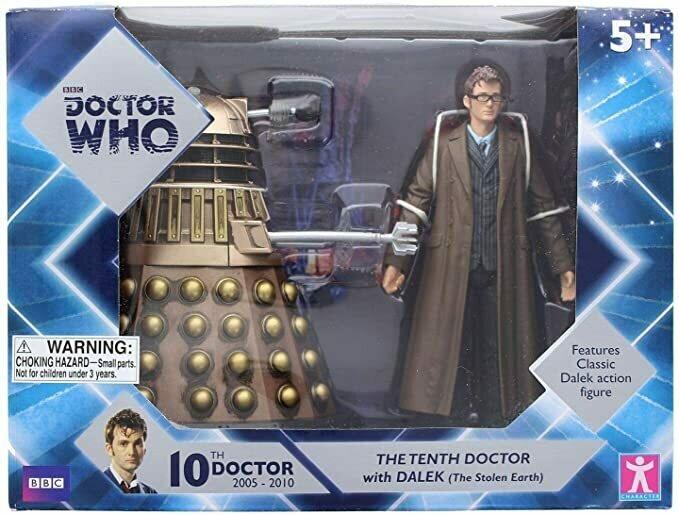 """Underground Toys 5"""" Doctor Who & Dalek Set"""