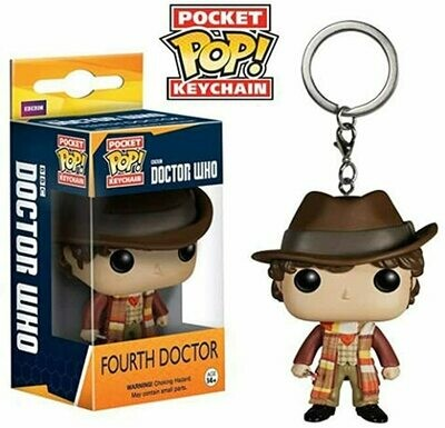 4 TH DOCTOR LLAVERO FIG 4 CM POCKET Pop DOCTOR WHO