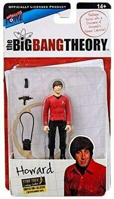 Bif Bang Pow! The Big Bang Theory Star Trek Howard 3 3/4-Inch Fig - Con Excl.