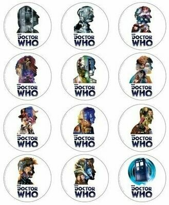 Doctor Who 50th Anniversary Coasters Set of 12