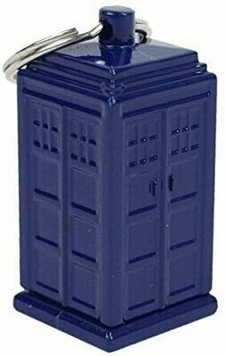 Doctor Who TARDIS Keychain - Emergency Fund Cash Stash and Money Holder