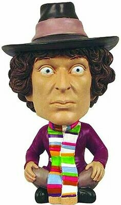Entertainment Earth Doctor Who Monitor Mate Fourth Doctor Mini Bobble Head