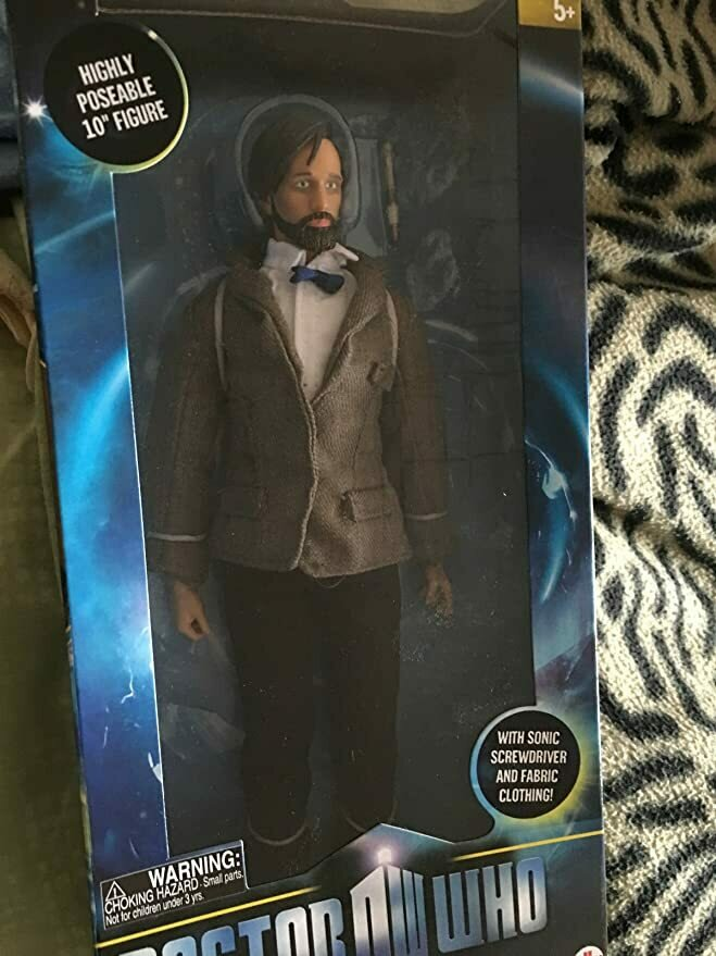 "10"" The Eleventh Doctor With Beard"