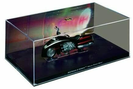 Eaglemoss Publications Batman and Robin Movie Robin Bike Die-Cast Metal Vehicle with Collector Magazine