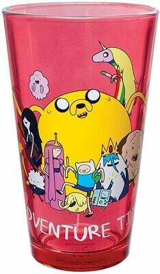 Animewild Adventure Time Group Shot Pint Glass