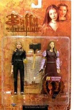 Buffy/Angel Buffy The Vampire Slayer > Dawn & Glory (The Gift) Action Figure 2-Pack