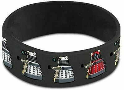 Doctor Who Dalek Rubber Wristband Bracelet BBC