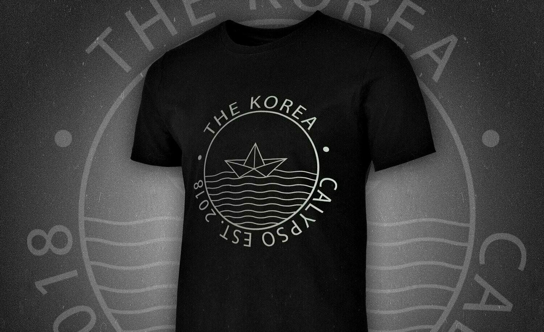 THE KOREA - футболка Calypso 2018 (черная)