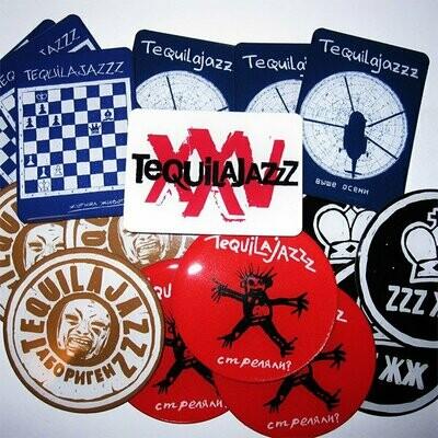 "Фан-бокс ""Tequilajazzz"" - ""Коллекция из 7 магнитов"""