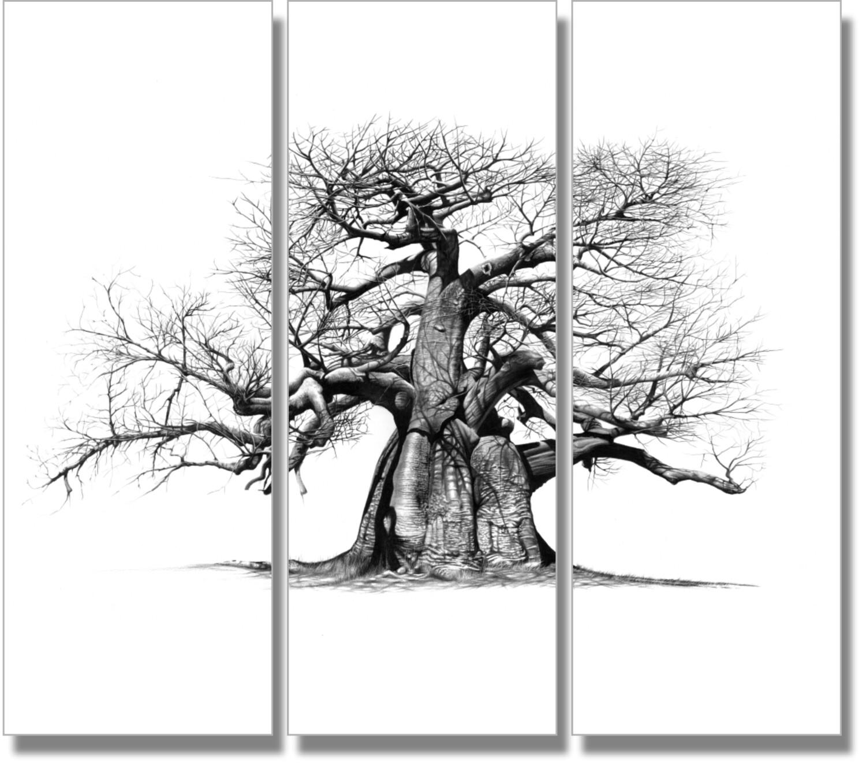 """""""Mowana"""" 1580mm x 1320mm composite print on canvass (Unframed)"""
