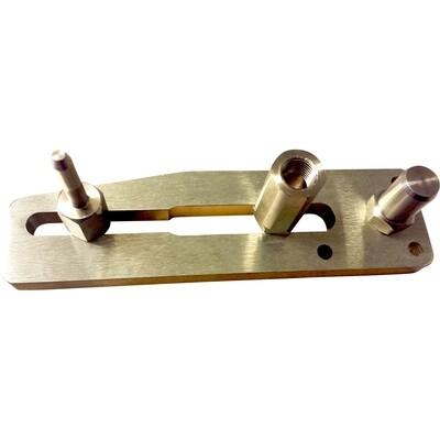2005 - 2010 Gen 1 Triumph Speed Triple Steel Pin Kit for Black Paddock Style Side Lift Stands