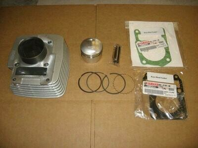 KAYO MiniGP MR125 Cylinder with True 125cc High Compression Piston Kit for 2012-2016 Yamaha based Engine models, Made in USA