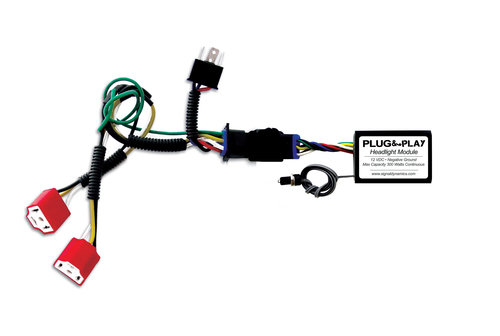 Plug & Play™ Headlight Module with Dual H4 Harness for SV650 Combo from Signal Dynamics