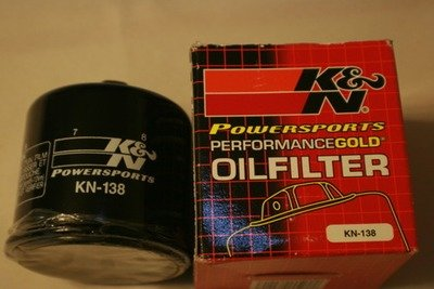 DL650 and  DL1000 K&N #138 High Performance Oil Filter