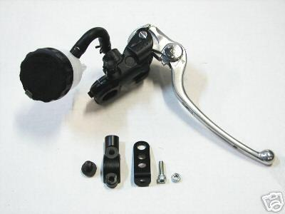 Nissin Radial Master Cylinder 17mm High Performance:  for Ninja 250R - 300 - Ninja 400, Yamaha R3, KTM RC390, All Single Rotor Bikes