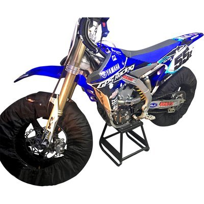 19 Inch Flat Track, Pro Level, 2020 Series, 3 Temperature Tire Warmers - 19 Inch Front - Rear Wheels