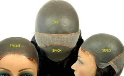 """GQ3000 Men s FULL CAP All skin, polyurethane base, a hair replacement system, prosthetic hairpieces Hair Length  5"""" to 6"""""""