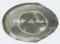 G0M02 NI See though Poly skin with mesh center Hair Replacement system