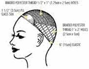 JADE OR HV integration hair system