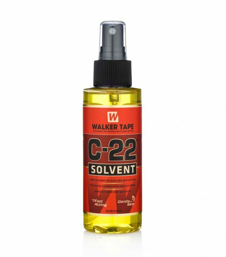C-22 Super solvent citrus scent 4 oz spray bottle for hair replacement systems