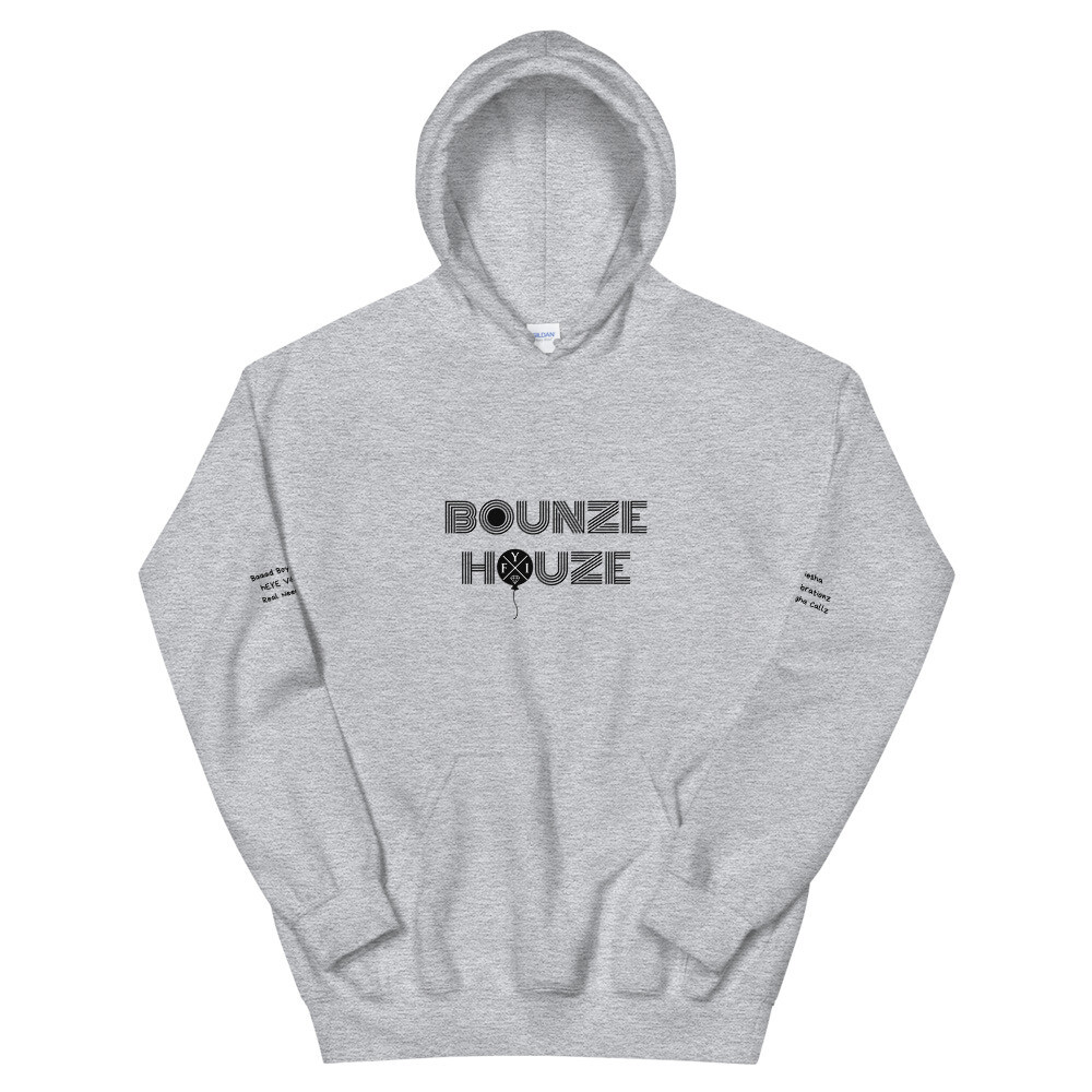 """Bounze Houze """"in the lab on the pots n' pans"""" Hoodie (unisex)"""