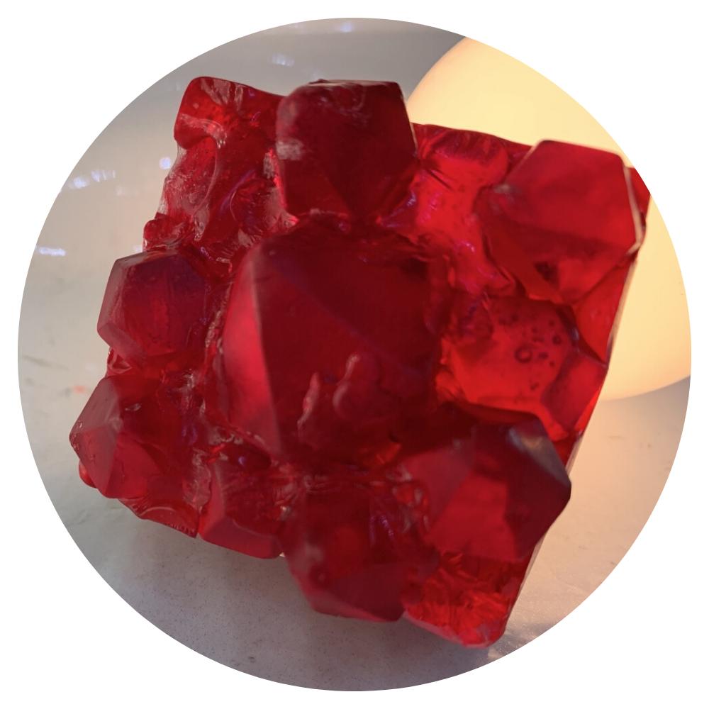 Gem Stone Soap - Radiant Rubies