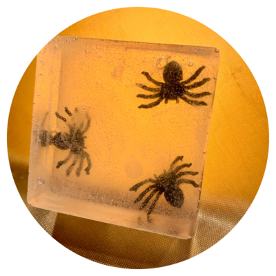 Gag Soap - The Heebies Jeebies - Spiders!