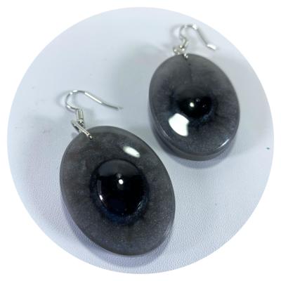 A Story of Stones - Series 2, Earrings (b)