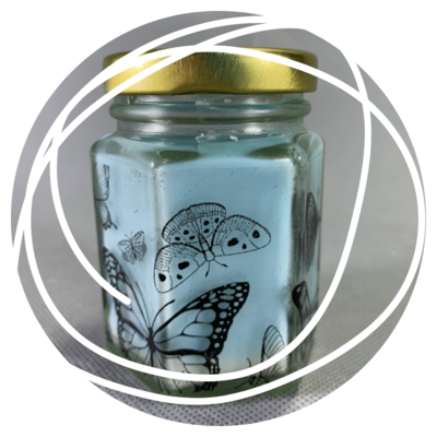 Customise Your Own Glass Jar Candle!