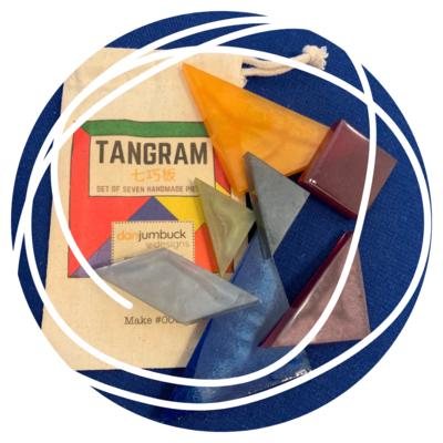 Handmade Tangram Set - #001