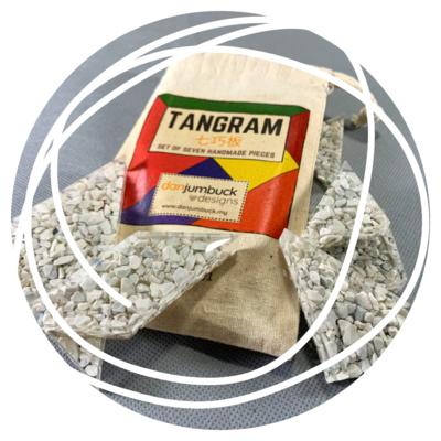 Handmade Tangram Set - #002