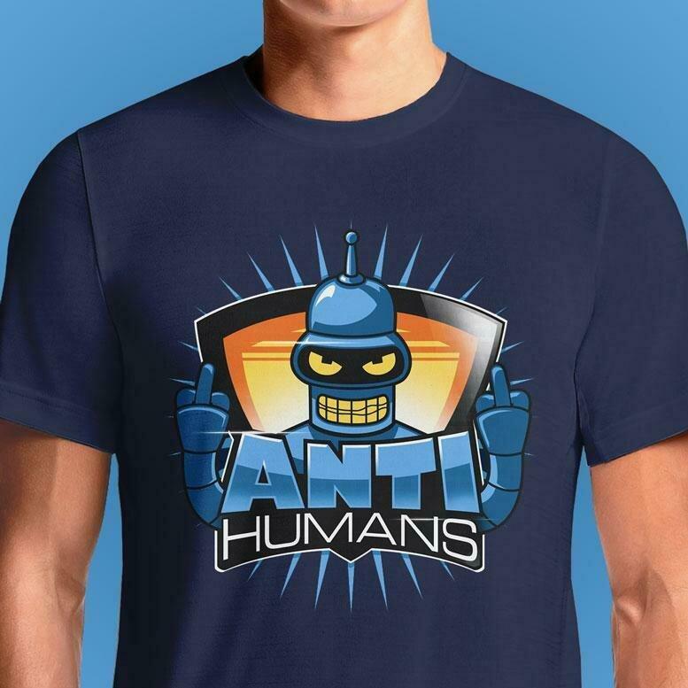 RudeBot Anti Humans