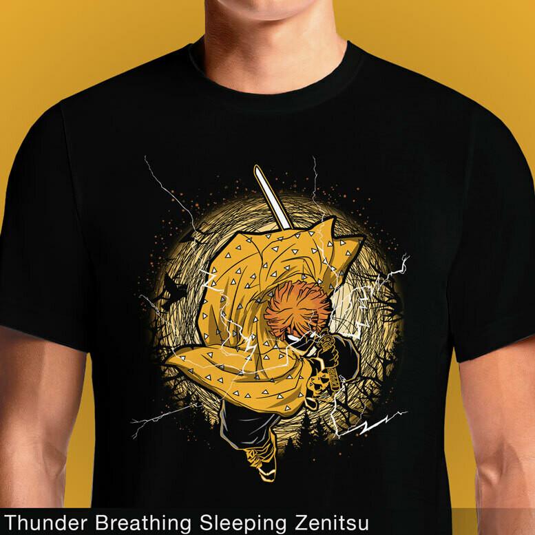 Thunder Breathing Sleeping Zenitsu